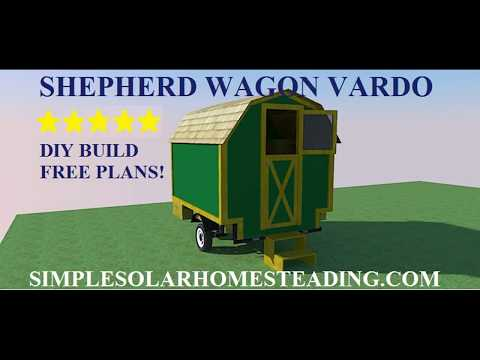Shepherd Wagon Vardo Build: Part 1
