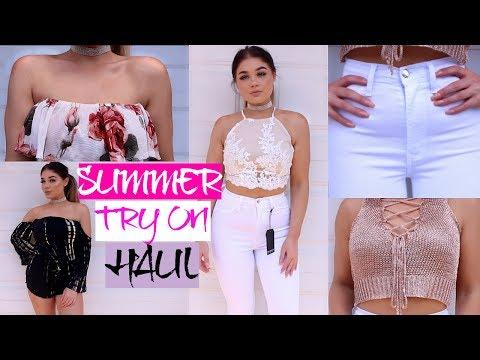 SUMMER FASHION NOVA Try On Clothing HAUL   Blissfulbrii