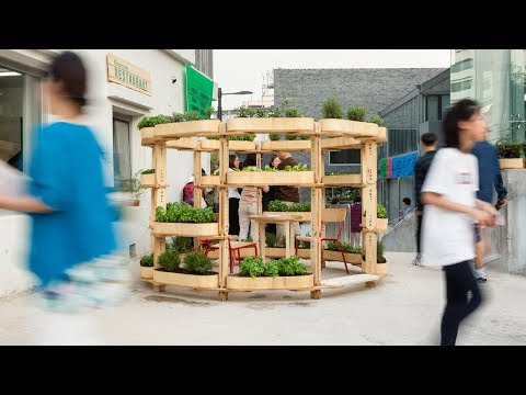 Urban gardening system Growmore helps city dwellers connect to nature through local food production