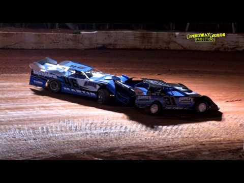 NeSmith Late Models   411 Motor Speedway   Aug. 23, 2014 - dirt track racing video image