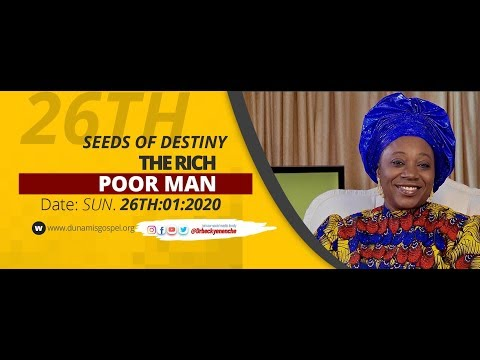 Dr Becky Paul-Enenche - SEEDS OF DESTINY - SUNDAY 26TH JANUARY, 2020