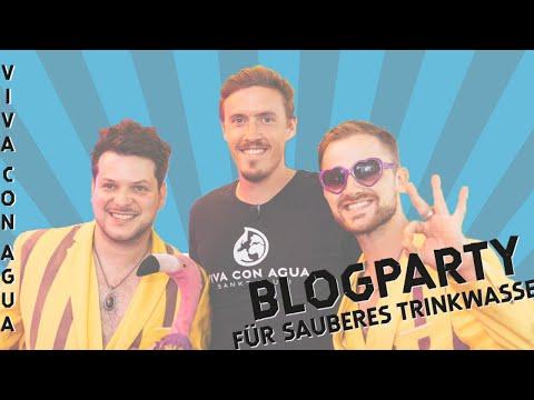 Blogparty mit Max Kruse, Fynn Kliemann, Claudio Pizarro, Jeannine Michaelsen