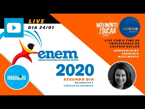 Enem 2020: professores do Colégio Núcleo comentam ao vivo as provas deste domingo