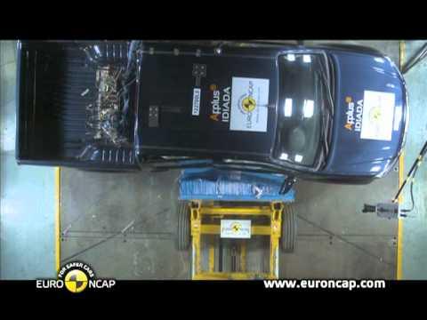 Isuzu D-Max w teście zderzeniowym Euro NCAP