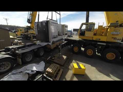 Machine Moving Time Lapse
