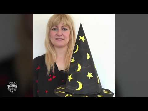 VirtuallyHalloween - How to make a Witch's hat