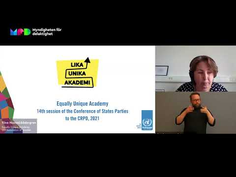 Universell utformning - en process för att nå målen med Agenda 2030 (otextad)