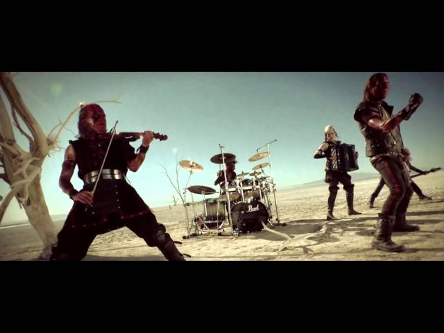 filmik turisas -- folk metal finski - stand up and fight