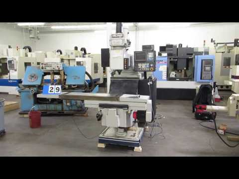 Vectrax GS-30-N 3-Axis CNC Knee Mill with Fanuc O-M Control At Machinesused.com