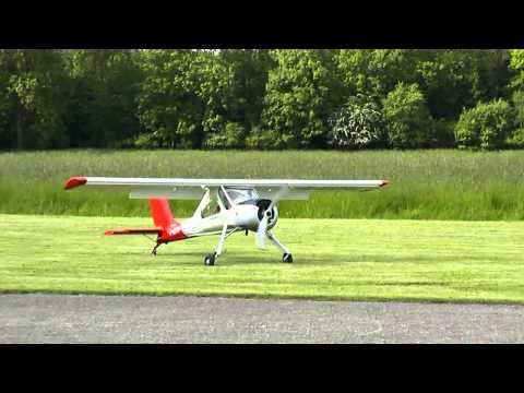 HobbyKing Wilga -2000 RC plane, test-flight | f-sport lt