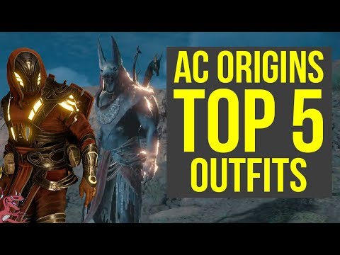 Assassin's Creed Origins All Outfits TOP 5 - MOST AMAZING ARMOR (AC Origins) - UCzF5oxzeidHOZzy4KK5nxCQ