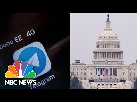 Extremists Move To Secret Online Channels To Plan For D.C. Inauguration | NBC News NOW