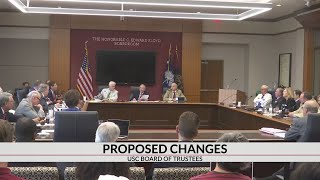 Senate committee starts discussions on bill to shrink UofSC's Board of Trustees