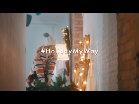 Holiday My Way Chapter 1: Decorating | Rebecca Minkoff Campaign 2016 | Starring Arielle Vandenberg
