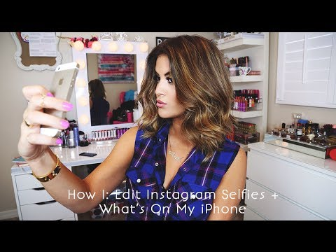 How I Edit Instagram Selfies + What's On My iPhone - UCz0Qnv6KczUe3NH1wnpmqhA