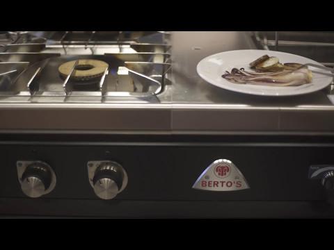 Tonno, maionese alla nocciola, topinambur e radicchio tardivo - Chef Andrea Valentinetti