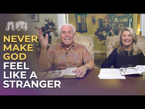Boardroom Chat: Never Make God Feel Like A Stranger  Jesse & Cathy Duplantis