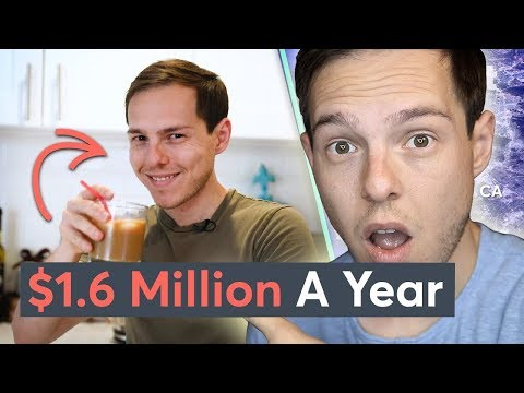 Reacting to Myself: Living On $1.6 Million A Year In Los Angeles   Millennial Money photo