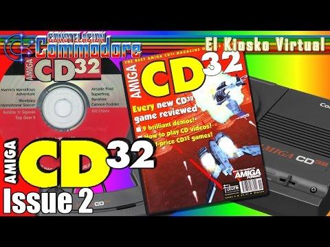 Amiga CD32 | Issue 2 + CoverCD | El Kiosko Virtual (Libros, Revistas,Magazines,Coverdisks,CoverCD)