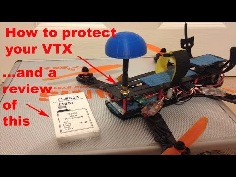 FPV ZMR 250 mod - how to stop breaking your VTX (+ bonus review) - UCcrr5rcI6WVv7uxAkGej9_g