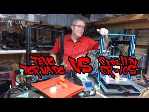 CR-10S vs Tevo Tornado showdown