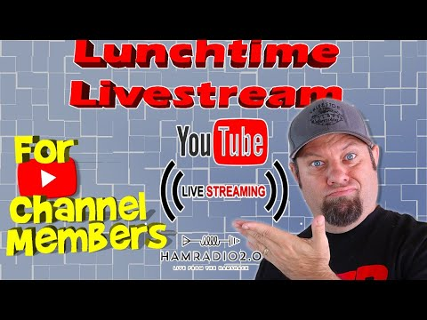 Lunchtime Livestream for YouTube Channel Members