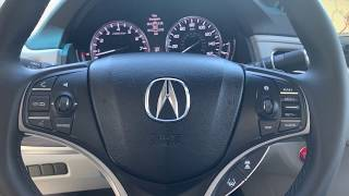 Las different view in the back up camera, Acura RLX 2017. RA