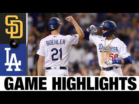 Padres vs. Dodgers Game Highlights (9/11/21) | MLB Highlights