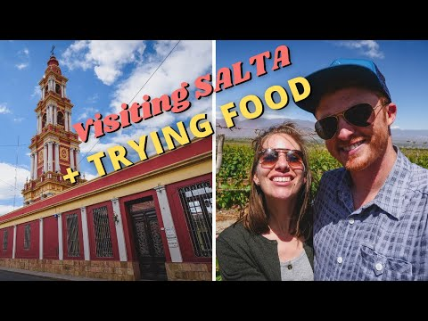 Visiting SALTA's Top Attractions + Trying Northern ARGENTINE FOOD (Lentil Stew, Empanadas, Steak!)