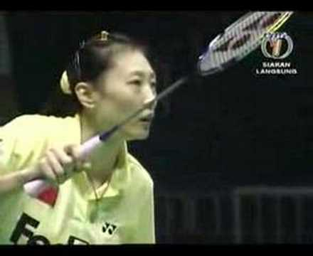 2007 China Open - WS Semis - Wong M C vs Zhang N - (1/5) - default