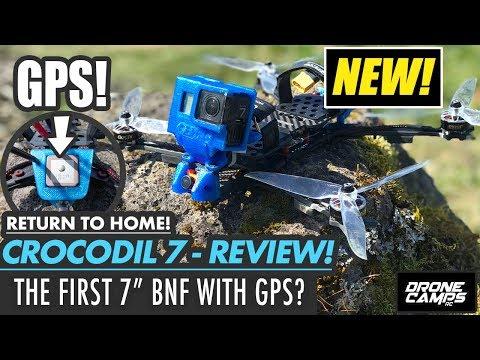 FIRST BNF Quad with GPS? - GEPRC CROCODIL 7 - FULL REVIEW, FLIGHTS, & SETUP - UCwojJxGQ0SNeVV09mKlnonA