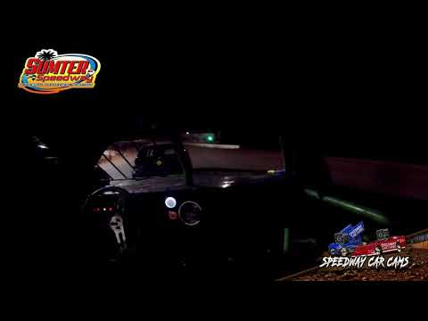 #444 Calvin Miller - Extreme 4 - 9-18-21 Sumter Speedway - In-Car Camera - dirt track racing video image