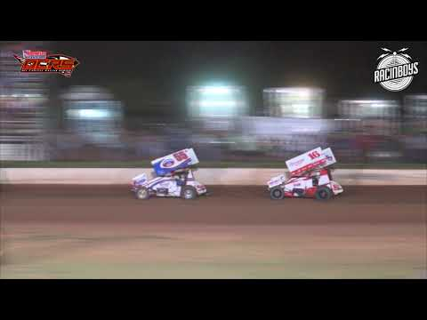 OCRS Sprints at Lawton Speedway 7 10 21 - dirt track racing video image