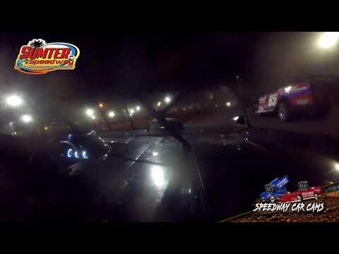 #13 Ray Miller - Steel Block - 9-18-21 Sumter Speedway - In-Car Camera - dirt track racing video image