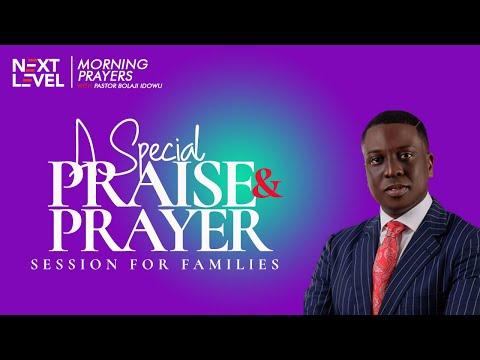 Next Level Prayers  A Special Praise & Prayer Session  Pst Bolaji Idowu  3rd September 2021