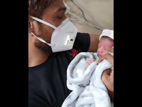 Mohammad Amir Reciting Azaan For His Newly Born Daughter