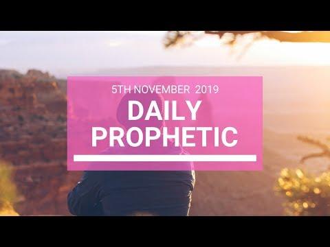 Daily Prophetic 5 November Word 6