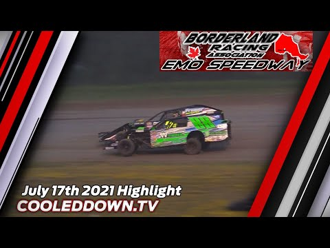 Emo Speedway July 17th 2021, WISSOTA Midwest Modifieds Feature Highlights - dirt track racing video image