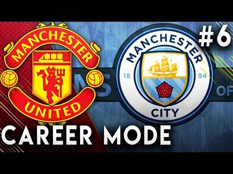 FIFA 19 Manchester United Career Mode EP6 - Insane Manchester Derby!! 10 Goal Thriller!!