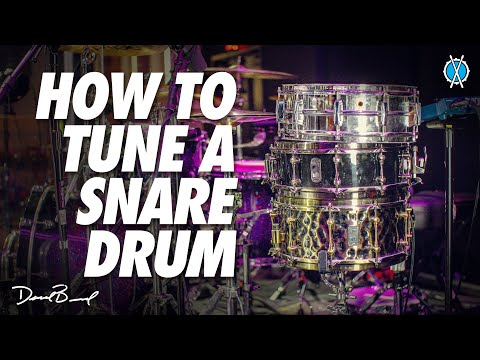 HOW TO TUNE A SNARE DRUM + philosophy, selection and my approach