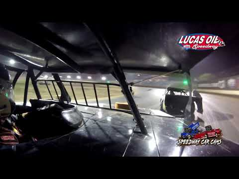 #54W Shawn Whitman - USRA B Modified - 10-8-2021 Lucas Oil Speedway - In Car Camera - dirt track racing video image