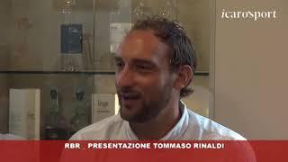 Icaro Sport. RBR _  Presentazione Tommaso Rinaldi