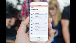 How to Delete Multiple Messages SMS in iPhone