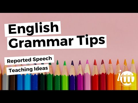 Conditionals and Reported Speech - Reported Speech Teaching Ideas