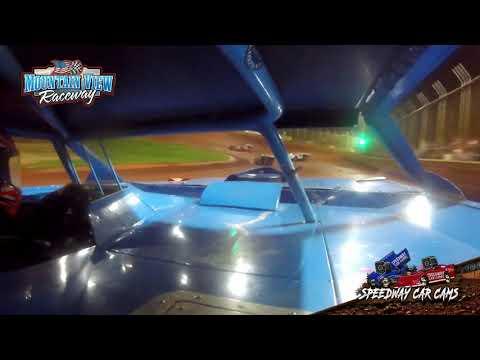 #03D Jeremy Thurman - B-Sportsman - Mountain View Raceway 5-15-21 - InCar Camera - dirt track racing video image