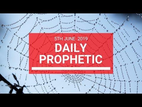 Daily Prophetic 5 June 2019   Word 2