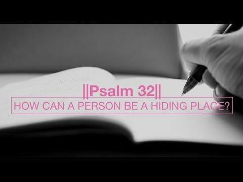 How Can A Person Be A Hiding Place?