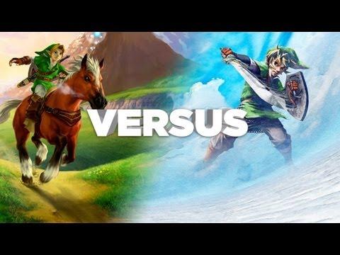 Zelda: Ocarina of Time vs Skyward Sword - You Decide! IGN Versus - UCKy1dAqELo0zrOtPkf0eTMw