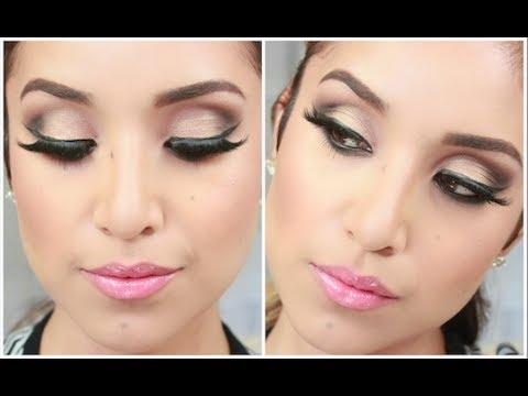 Glam Smokey Brown Eyes- Full Face Makeup Tutorial - UCo5zIpjl2OQkYatd8R0bDaw