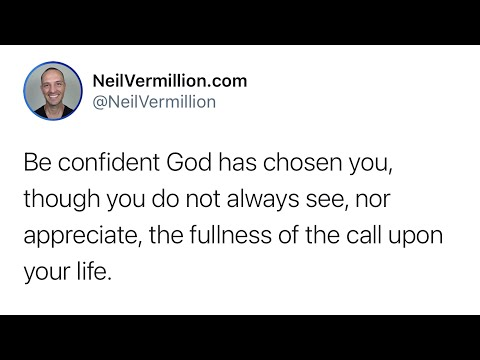 Know I Have Chosen You - Daily Prophetic Word